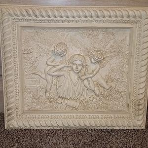 Angel wall decoration